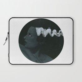 Frankenstein's bride on vinyl record print Laptop Sleeve