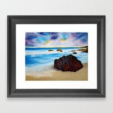 Serenity Rock Framed Art Print