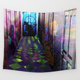 """""""Doorways to Imagination"""" by surrealpete Wall Tapestry"""