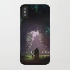 Feel Lonesome iPhone X Slim Case