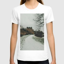 Town wall of Visby, Island of Gotland, Sweden  T-shirt