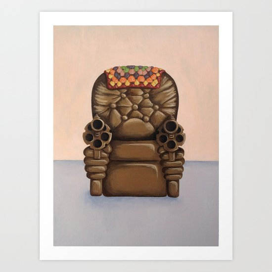 Shoot From the Hip Art Print