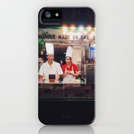 Made on the spot iPhone Case