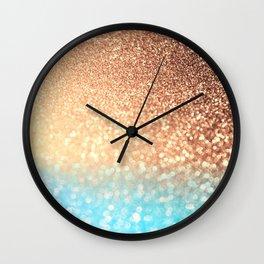 Sundown Over the Ocean Wall Clock