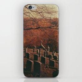 Sleepy Hollow Cemetery iPhone Skin