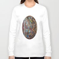 confetti Long Sleeve T-shirts featuring Confetti by Atziri