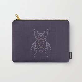Neon beetle Carry-All Pouch