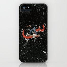 Seen Skateboarder iPhone Case