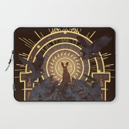 First They Must Catch You Laptop Sleeve