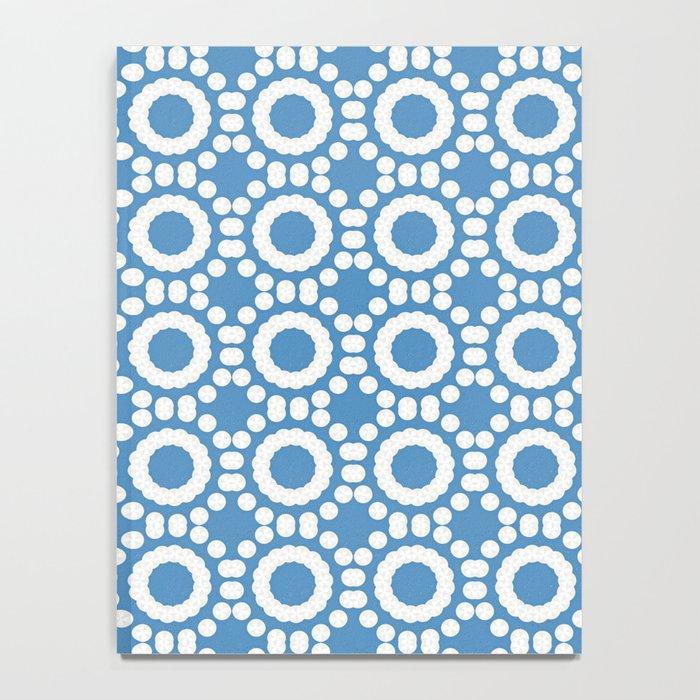 Round and Round Blue Notebook
