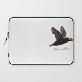 Tufted puffin art print Laptop Sleeve