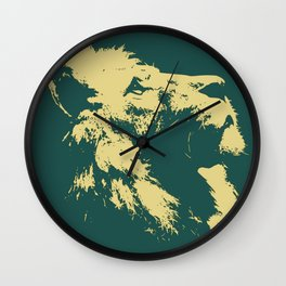 Lion Lion Wall Clock
