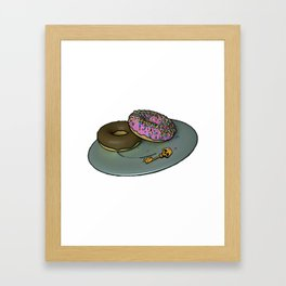Borderland Bronuts Framed Art Print
