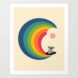 Dream Surfer Art Print