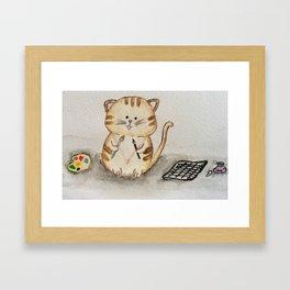 Decision Making Framed Art Print