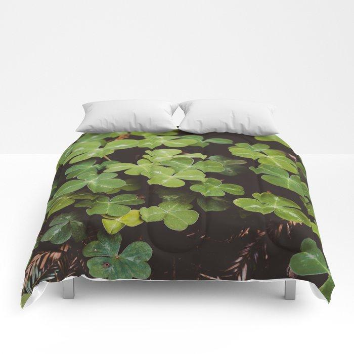 Redwood Sorrel - Nature Photography Comforters