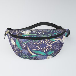 Tropical fireworks Fanny Pack
