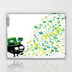 Blowing shamrocks Laptop & iPad Skin