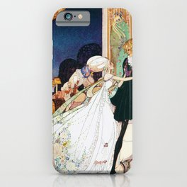 Lina, The Youngest Princess Who Stops Michael Trying To Take Medicine To Become A Dance Doll iPhone Case