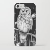 hedwig iPhone & iPod Cases featuring Hedwig by Tim Van Den Eynde