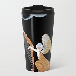 "Art Deco Design ""The Angel"" by Erté Travel Mug"