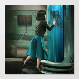 The Shape of Water Canvas Print