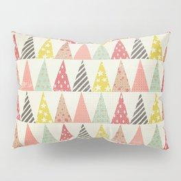 Whimsical Christmas Trees Pillow Sham