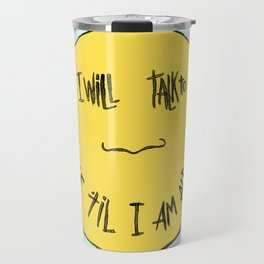YELLOW OSTRICH Travel Mug