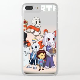 Undertale Group Shot Clear iPhone Case