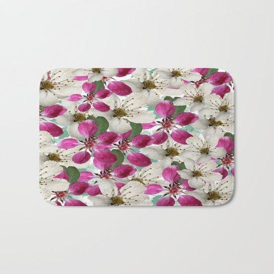 Spring Blossoms Abstract  Bath Mat