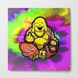 F U Buddha Metal Print