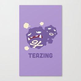 Teazing Canvas Print