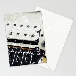 Electric Guitar Stationery Cards