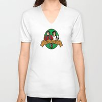 the hobbit V-neck T-shirts featuring The Hobbit by SuperEdu