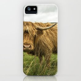 Hairy Coo iPhone Case