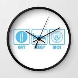 ESP: Man City Wall Clock