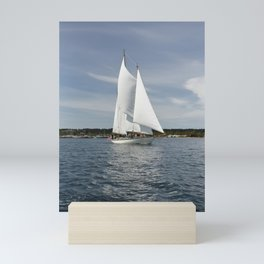 Schooner Martha Boat Sailboat Port Townsend Washington Sailing Northwest Sailor Regatta Mini Art Print