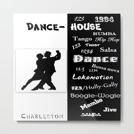 dance house Metal Print