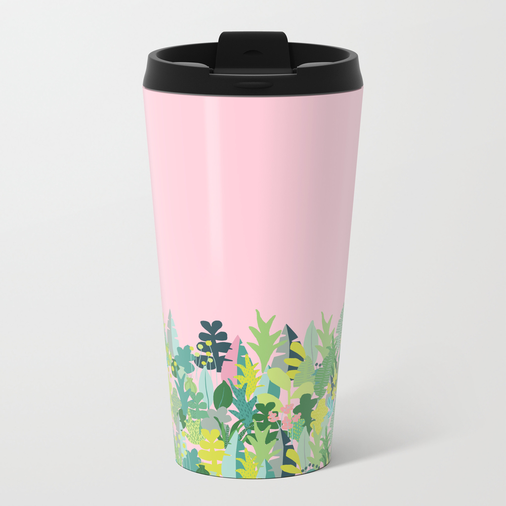 Lets Get Tropical Metal Travel Mug by Jennylundinjohansson MTM8840824