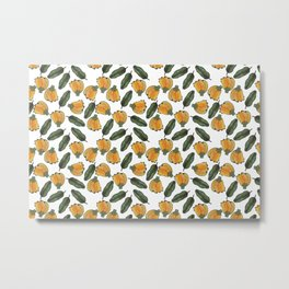 banana and banana leaf Metal Print