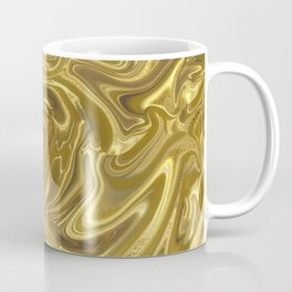 Rich Gold Shimmering Glamorous Luxury Marble Coffee Mug