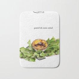 La Cuisine Fusion - Pastel de Nata Salad Bath Mat