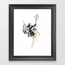 Just Go Framed Art Print