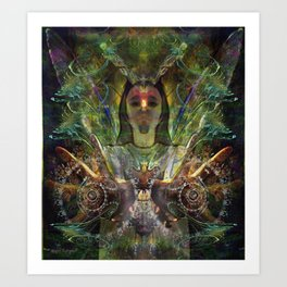 Color in Your Hands ~ The Luminarian Art Print