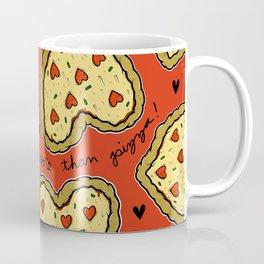 I Love You More Than Pizza on REPEAT -- AKA RE-PEATZAAA Coffee Mug