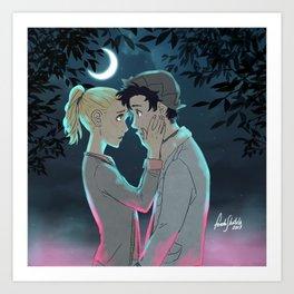 Midnight Confession Art Print
