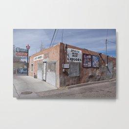 Liquor Store Española Metal Print
