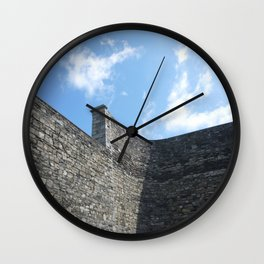 Shadow of the Jail Wall Clock