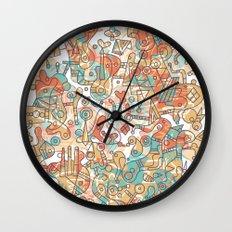 Schema 19 Wall Clock