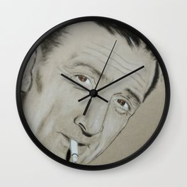 Lino Ventura Wall Clock